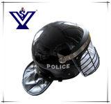 バイザー(SYSG-285)が付いている警察の反暴動のヘルメットの軍装置