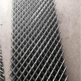 Malha de arame soldado galvanizado electromagnética paralela lateral