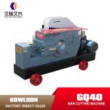 Gq40 Machines 640mm van de Bouw de Afgesneden Machine van het Staal Staaf