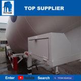 タイタンの手段- 50 CBMのバルクセメントの荷役のタンカーの土地プラスタータンクトレーラー