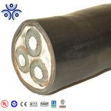 Kabel van de Macht van het Voltage van de Draad van het aluminium de Gepantserde Midden (YJV72 26/35KV)