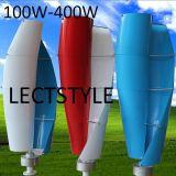 200W 12V 24V Micro Vertical Wind Generator para carga de bateria