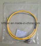 4 Core Breakout Cable ST / PC Singelmode Fiber Pigtail