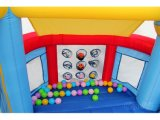 Casa inflável do salto com poço Qb122s da esfera