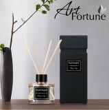 Difusor de la caña del petróleo de Esstial del aroma de 100 ml Fagranced con los palillos de la rota en el rectángulo de regalo para la decoración casera