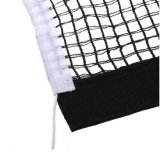 黒いカラー卓球または卓球の置換のネット
