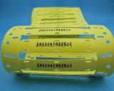 Etiket van de Kabel van het Halogeen MT-Vlu het Vrije