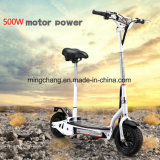 Popular 500W suciedad bicicleta plegable con Motor sin escobillas de batería de litio de rueda grande