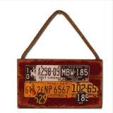 Украшение дома сувенира афиши знаков деревянной металлической пластинкы деревянное