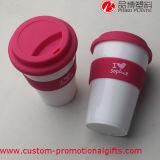 Kundenspezifische Plastikkaffeetasse des Fabrik-Preis-16oz mit Deckel