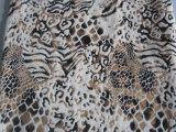 Bronzare il breve tessuto molle eccellente della peluche per il sofà