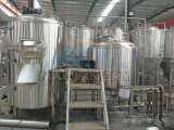 Stainles cónico de acero fermentador Tanque de sacarificación Restaurante Cervecería equipo y facilidad