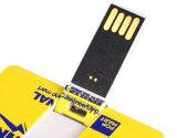 2018 1GB presente de promoção Pen Drive USB de cartão de crédito