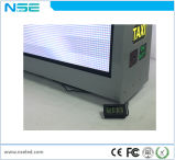 Tela de indicador de anúncio eletrônica ao ar livre superior do diodo emissor de luz do táxi P5