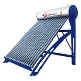 統合されたヒートパイプの真空管の加圧太陽給湯装置