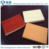 1220*2440*5mm Novo Design colorido placa MDF melamina em relevo