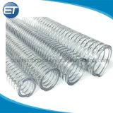 Alambre de acero reforzado de PVC rígido de la manguera de aspiración vacío completamente