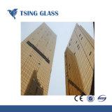 Cristal reflectante para la construcción con diseño personalizado de Gaza el patrón de arte