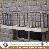 Disegno delle reti fisse della veranda dell'inferriata del balcone del ferro dell'inferriata del balcone del metallo della fabbrica