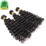 Trama umana nera naturale sana dei capelli del Virgin di Neat&Clean