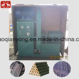 El aserrín de madera barata fábrica de briquetas de biomasa de la máquina de prensa