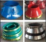 Kegel-Zerkleinerungsmaschine-Zwischenlage-Platten-Kegel-Zerkleinerungsmaschine-Abwechslungs-Abnützung-Teile