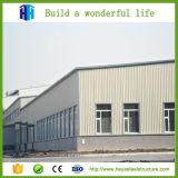 Portable Atelier de grande portée de la construction de l'entrepôt de structure légère en acier