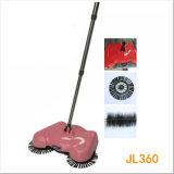 中国360の回転式掃除人かほうき