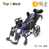 Disablities를 위한 의학 Products Aluminum Reclining Children Cerebral Palsy Wheel Chair