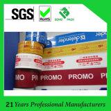 Impreso BOPP cinta de embalaje con su propia marca y logotipo