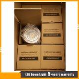 luz/proyector ahuecados 15W de la MAZORCA LED abajo para la iluminación comercial del departamento/del hotel/de la alameda