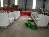 中国の灰色は白い大理石の床タイルを張りめぐらす