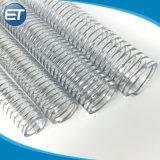 """Pression flexible en PVC transparent avec câble en acier hélice (1"""" 1-1/2"""" 1-1/4'')"""