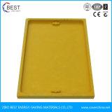 500x700 Tampa de Inspeção retangular amarelo