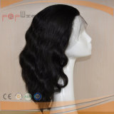 Pleno de la cutícula intacta en la parte delantera encaje peluca de cabello virgen (PPG-L-0087)