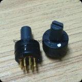 commutateur rotatif de la position 2-8 de 9mm mini pour l'acoustique