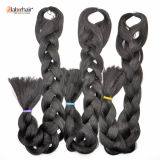 2016 Hair Braid Products 100% Kanekalon Jumbo Braid Synthetic Hair Extension Stock Lots Marchandises disponibles Lbh017