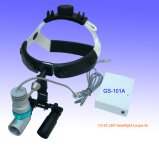 Los faros LED Dental quirúrgica lupas Lupa 4X