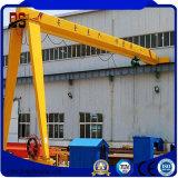 Máquinas de elevación eléctrico Semi-grúa de pórtico de 10 ton.