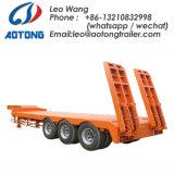 80tons 2 zeichnet 4 LKW-Schlussteil der Wellen-Low-Bed/Lowboy