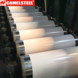 Tôle d'acier galvanisée enduite d'une première couche de peinture pour le matériau de construction rapide