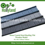 Крыши с покрытием из камня лист стальная панель (деревянные типа)