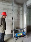 2017エクスポート5mの高さのインドAsutomaticの壁プラスター噴霧機械価格