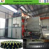 Новый тип HDPE двойные стенки сливного топливопровода линии экструзии производителя