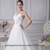 Новые поступления из тафты Strapless милая рельефная свадебные платья