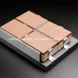 Système de revêtement de mur de résistance d'altération superficielle par les agents atmosphériques de non-métal de qualité