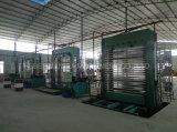 Bambusfurnierholz-heiße Presse-Maschine