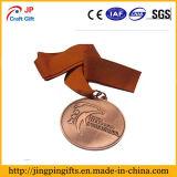 Maratón de alta calidad personalizada de la medalla de metal