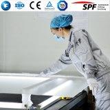 Tempered низкое стекло листа утюга для панели солнечных батарей