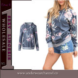 Vêtements de sport Sweatershirt Hoodie (TONY0541) de 2017 de femmes chemises de vêtements longs